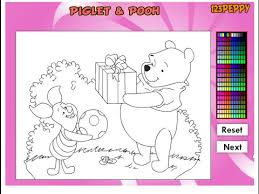 Small Picture Winnie The Pooh Coloring Pages Disney Online Coloring Pages For