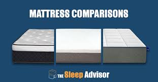 Bed Comparison Chart Mattress Comparison Chart And Compare Tool 2019 The Sleep