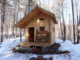 Image of: Small Cabin Build