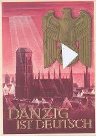 Deutschland deutsches reich holland schweiz österreich karte map chiquet. Deutschland Drittes Reich Ansichtskarte 1933 1945 Whw Karte Danzig Ist Deutsch Ungelaufen Ma Shops