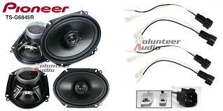 pioneer 6x8 speakers. image is loading pioneer-ts-g6845r-6x8-speakers-with-wiring-harness- pioneer 6x8 speakers a
