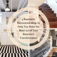 40 Basement Renovation Design Ideas Dig This Design Enchanting Basement Remodeling Designs Ideas Property