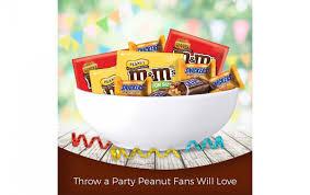 mars chocolate peanut peanut er fun size candy variety mix 35 04 ounce bag 2 pack