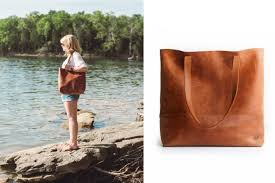 the mamuye bag from fashionable is the leather tote that feels divine and so will you