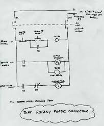 static phase converter wiring diagram wiring diagram and hernes american rotary phase converter wiring diagram