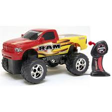 Remote Control (RC) Dodge Ram Off-Road Truck W/Off-Road Tires