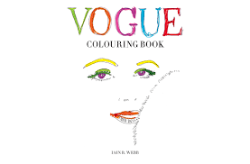 The First Vogue Coloring Book Is Unveiled Pursuitist In