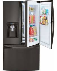 kenmore black refrigerator. kenmore elite 73167 28.5 cu. ft. french door bottom freezer refrigerator w/ grab black
