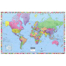 World Map Posters World Map Poster Print 36x24