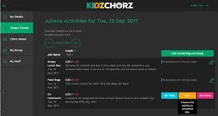 Chore Software Doing Chores Late Kidzchorz
