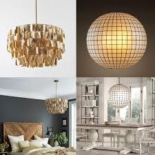 fresh design capiz rectangular chandelier 25