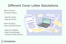 This salutation should be used for general concerns like support requests or feedback. How To Choose The Right Greeting For Your Cover Letter