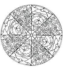 Mandala Coloring Pages Printable Printable Mandalas To Color Mandala