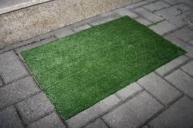 artificial grass outdoor carpet door mat green doormat faux grass rug indoor