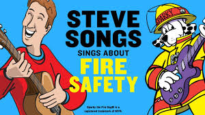 sparky the fire dog book. fire safety video for kids with stevesongs \u0026 sparky the dog - youtube book