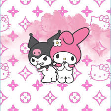Hello kitty, collage, art and craft, creativity, full frame. Hello Kitty Aesthetic Wallpapers Wallpaper Cave