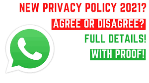 WhatsApp Privacy Policy | Is WhatsApp Insecure | Privacy Policy Details