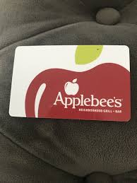 applebees gift card 1 of 1only 1 available