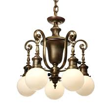 sold antique colonial revival chandelier with glass globes early 1900s colonial revival pan chandelier colonial revival chandelier spanish colonial revival
