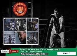 Darren's BIG Fight! Blantyre Telegraph News for Community Good causes