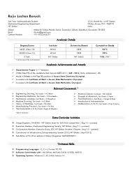 Senior Civil Engineer Jobs Resume Format For Internship For ...