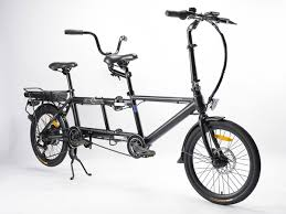 <b>Folding Electric</b> Tandem Bike | Free UK Next Day Delivery | Ecosmo