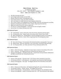 Resume Matthew Halla