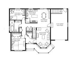 Floor Plans For A Detached Single Family House Proposed For The Blueprints For A House