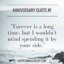 Anniversary Quote Delectable 48 Perfect Anniversary Quotes For Him Paper Anniversary By Anna V