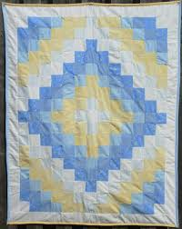Quintessential Baby Quilts & white yellow blue Adamdwight.com