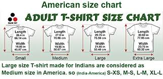 Amazon Shirt Size Chart India Stand Out Mens Cotton Psychedelic T Shirt