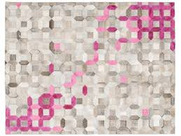 trellis rug by art hide pink