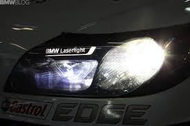 Sport Series bmw laser headlights : BMW Z4 GT3 with innovative laser light technology