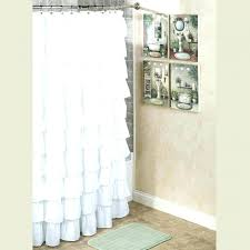double tension shower curtain rod um image for double tension shower curtain rod ruffled shower curtain