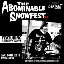 Image result for defiant abominable snowfest 2019