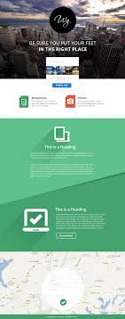 one page website template single page free website template psd freebie no 113