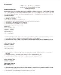 Sample Nursing Assistant Resume Sample Nursing Assistant Resume 8 Examples In Word Pdf