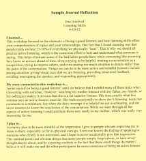 writers reflection essay college essays how to write a reflection essay