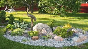 Amazing Rock Garden Design Ideas | Rock garden ideas for front yard