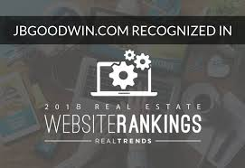Jb Websites Jb Goodwin Ranked As One Of Nations Top Real Estate Websites