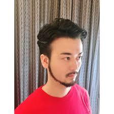 外人風メンズパーマ Beautrium 梅田ビュートリアムのヘアスタイル