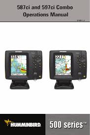 Humminbird 597ci User Manual 143 Pages Also For 587ci