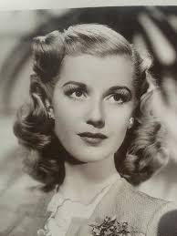pure forties style actress anita louise and her lovely hair 1940s