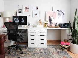 two desk office.  Two 28 Creative Double Desks Home Office Yvotube Kids Desk Best 25 Throughout  Ideas  For Two S
