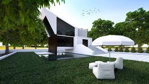 3D Exterior Rendering Creative Decoration Interesting Decorating Ideas
