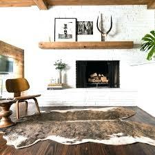 faux hide rug brown cowhide rug faux hide rug faux cowhide beige brown area rug faux