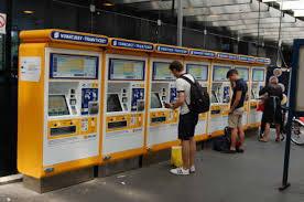 Ticket Vending Machine Budapest Interesting MÁVSTART Internet Ticket Purchase