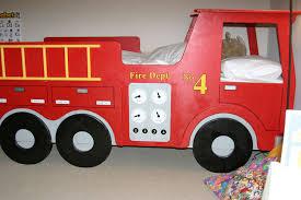 boys room fire truck bed Room Ideas Pinterest