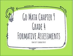 Email your homework to your parent or tutor for free. Go Math Chapter 9 4 Grade Worksheets Teaching Resources Tpt