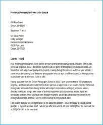 Simple Photographer Cover Letter As Prepossessing Ideas